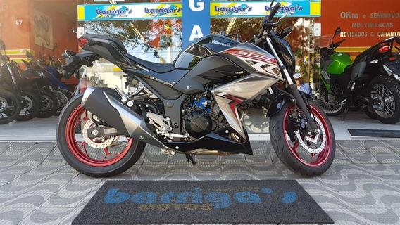 Kawasaki Z 300 Abs 2018/2019 Preta Metallic Spark Black