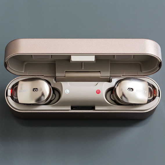 Headphone Sony Wf-1000x/bm1 Com Noise Cancelling Sem Fio