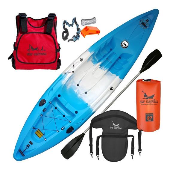 Kayak S1 Ideal Pesca Completo Full Posacañas Emp Nautica Hs