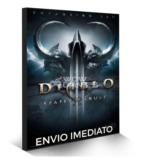 Diablo 3 Reaper Of Souls Battlenet Digital Cd-key Global Pc