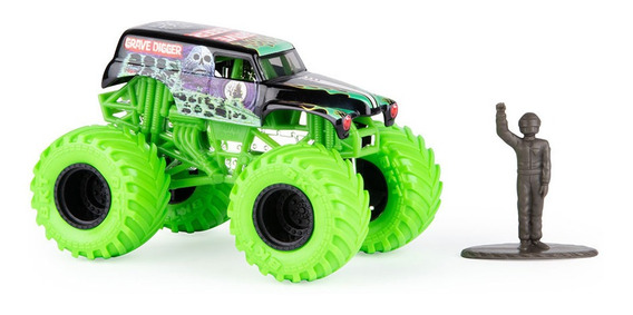 Monster Jam Vehiculo 1.64 Metal Surt Int 58701 Original