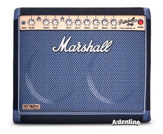 Puff Parlante Rock Marshall Regalo Hombre Mujer Original