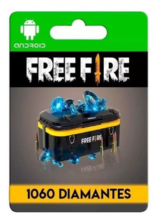 Free Fire 1060 Diamantes + Bonus