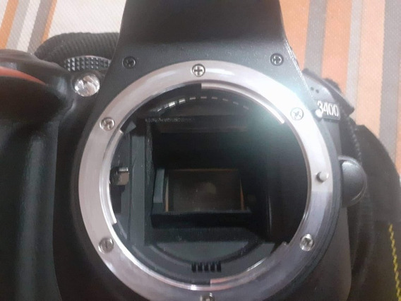 Cámara Nikon D3400 Impecable
