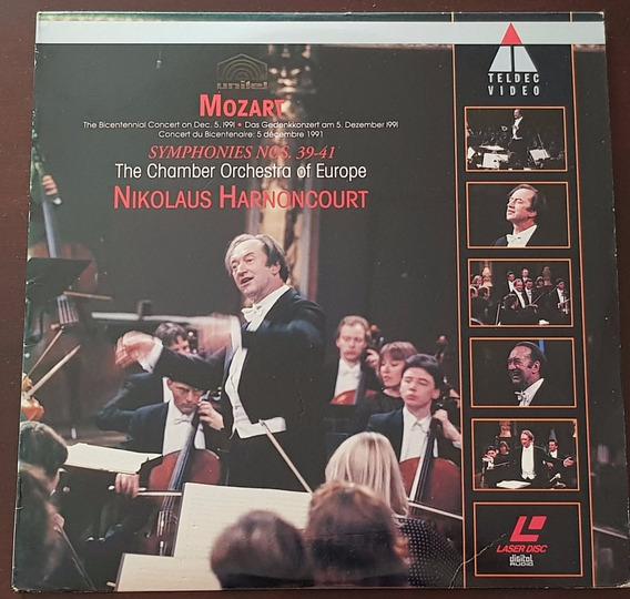 Ld Nikolaus Harnoncourt Mozart Symphonies Nos. 39-41 Chamber