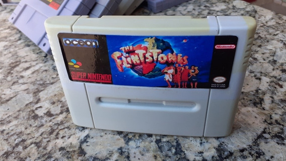 The Flintstones Snes Super Nintendo Paralela