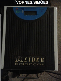 Balança Lider Digital De 150 Kg 110v/220v E Bateria. Sem Uso