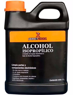 Alcohol Isopropilico Perfect Choice 1 L. Essentials
