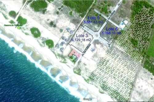 Venta Lote Frente Al Mar En Fracc. Playa Delfin Puerto Escondido