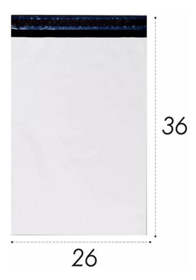 Envelope Plastico De Segurança 26x36 26 X 36 - 500 Unidades