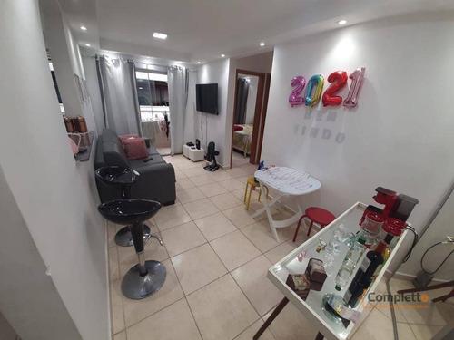 Imagem 1 de 30 de Apartamento Com 2 Dormitórios À Venda, 48 M² Por R$ 240.000 - Taquara. - Ap0400