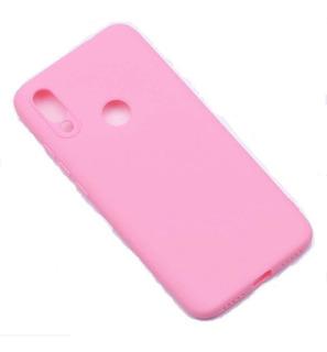 Capa Case Silicone Fosco Xiaomi Redmi Note 7 Tela 6.3