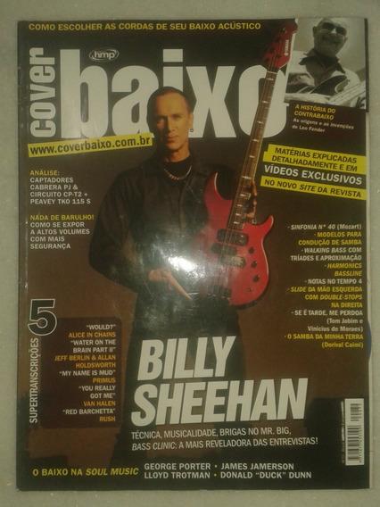Revista Cover Baixo - Billy Sheehan
