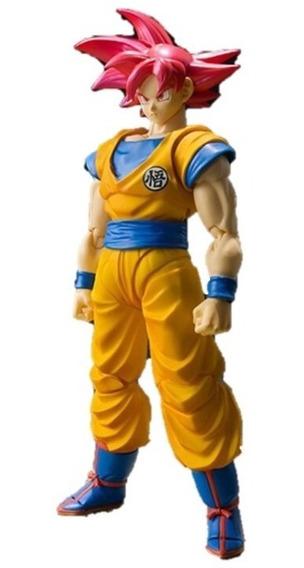 Figura Acción Goku Raised Earth Dragon Ball Super Articulada