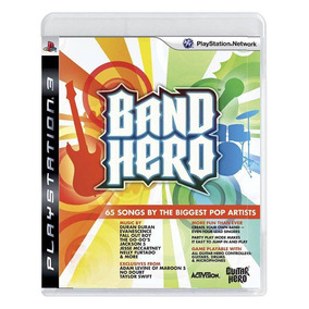 Band Hero Ps3 | Mídia Física Original