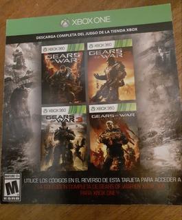 Gears Of War Paquete De 4 Juegos Digitales