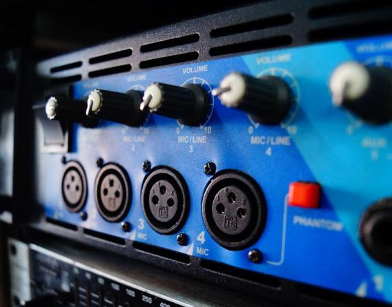 Amplificador De Potência Machine A2500 Mix