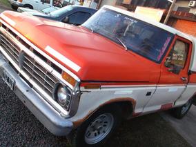 Ford F100 Deluxe Mod 1976 Motor Perking Negro Potenciado