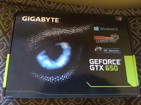 Placa De Video Gigabyte Gtx 650