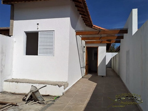 Casa À Venda - 75m² Com 2 Dormitórios, 1 Suíte, Lavanderia E 2 Vagas De Garagem - Jd. 3 Marias - Peruíbe - Sp - Ml1075