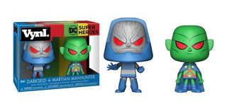 Funko Dc Super Heroes Vynl. Darkseid + Martian Manhunter