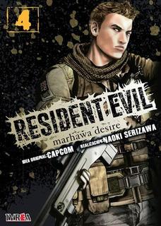 Libro Resident Evil: Marhawa Desire # 04 De 05