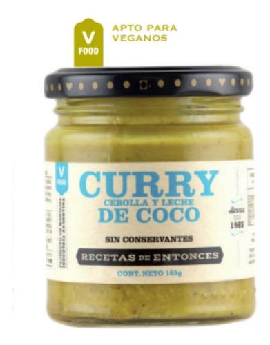 Imagen 1 de 5 de Curry De Cebolla Y Leche De Coco X 160gr Recetas De Entonces