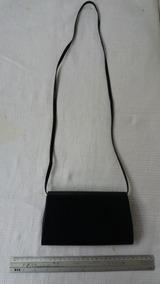 Bolsa Preta Pequena Tipo Carteira De Ombro 18cm X 11cm C2265