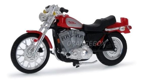 Harley Davidson Xl 1200c Sportster 2002 Maisto 1:24 35094-14