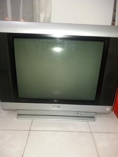 Tv 21 Sanyo Pantallaplana,control. Funciona Perfecto.oferta!