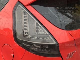 Calaveras Led Ford Fiesta Hb St / Rines Dvd Gps Oem Tuning