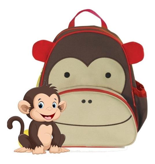 Mochila Skip Hop Mono Infantil 100% Original Cod 210203