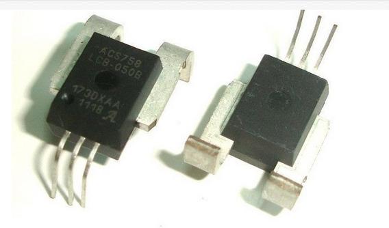 Acs758 Sensor Acs758lcb-050b-pff-t 50a Bidirecional