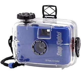 Camara De Foto Flash Camera Snap Sights Focus 25 Ft / 30m