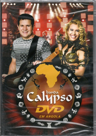 Banda Calypso Dvd Ao Vivo Em Angola Novo Frete R$ 11,00