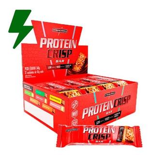 Protein Crisp Whey Bar Cx 12un - Integralmédica - Promoção!
