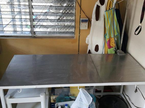 Mesa Para Cirugia Veterinaria Con Laminas Inoxidables $7,500