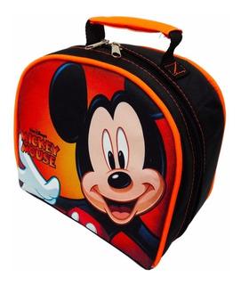 Loncheras Termicas Personajes Comics, Disney, Mickey Y Otros