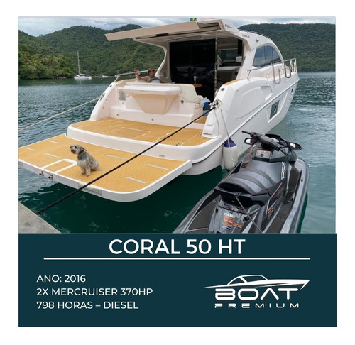 Coral 50 Ht, 2x Mercruiser 370hp - Phantom - Azimut - Sessa
