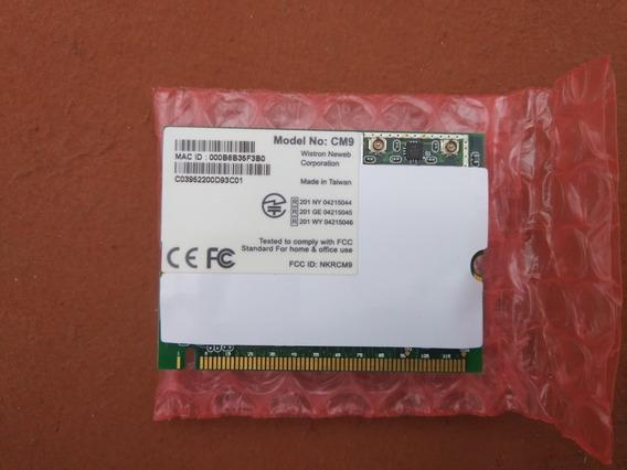 Wifi Minipci Atheros Wistron Cm9-gp 100 Mw 802.11a/b/g T