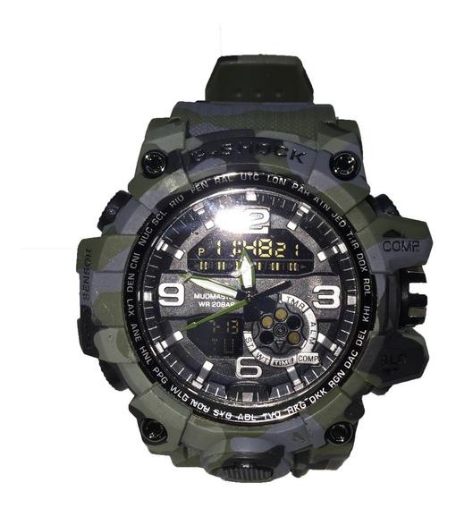 Relógio Digital Analógico Esportivo Militar Pronta Entrega
