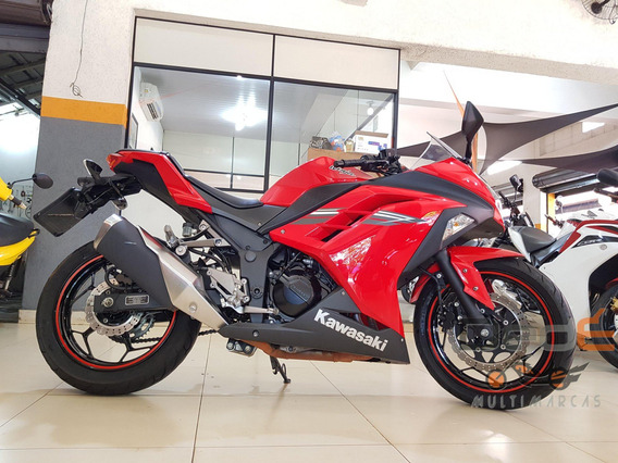 Kawasaki Ninja 300 R Vermelho 2017