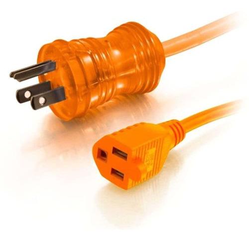 Imagen 1 de 3 de C2g / Cables To Go 50ft 5-15p-5-15r 16awg Cable De Alimentac