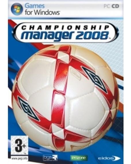 Championship Manager 2008 Pc Digital