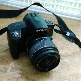 Sony Alpha Dslr-a290 Na Caixa + Acessórios + Cartões + Bag +