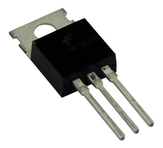 Transistor Npn Chaveamento Tip50 Trans 122