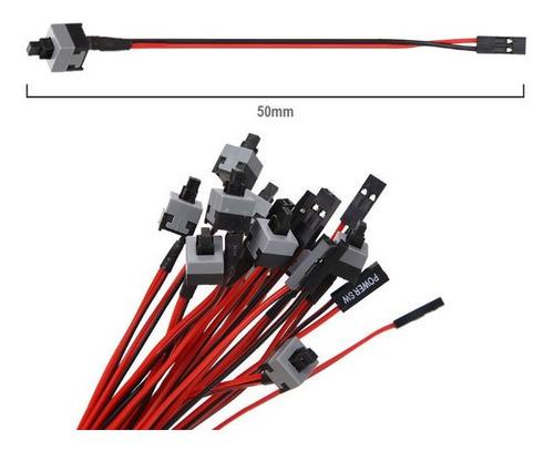 Boton Switch Encendido Cable Rig Eth Pc Power Sw Btc 10und