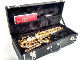 Estojo Case Para Sax Alto Com Compartimento Kromus