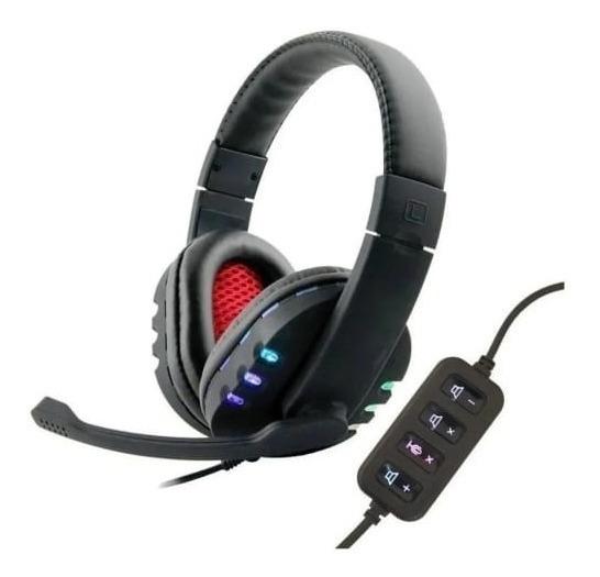 Fone De Ouvido Headphone Usb Souye Novo Com Led Light