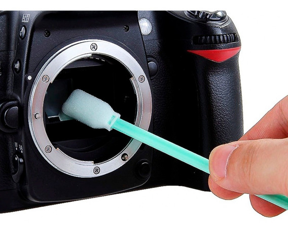 2pc Haste Swab Limpeza Sensor Cmos Alpha A100 A6000 A6300